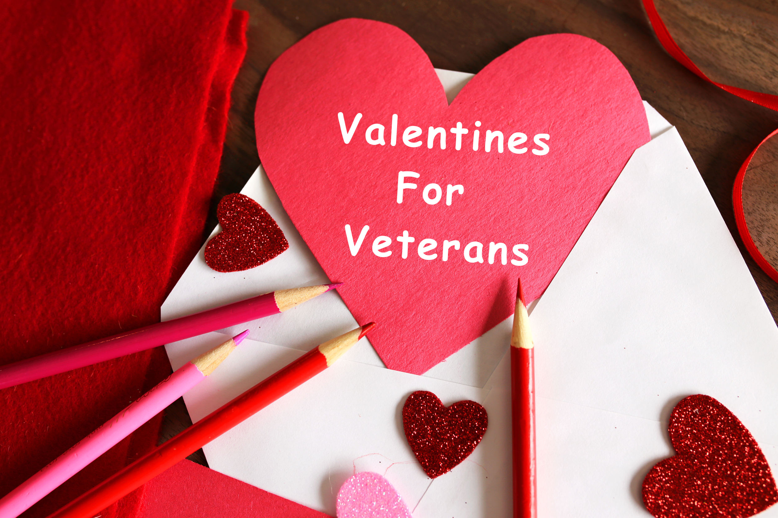 Valentines For Veterans Card Making Day