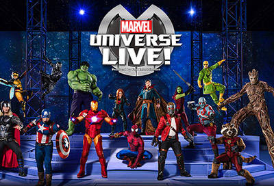 Marvel Universe Live Connecticut Debut