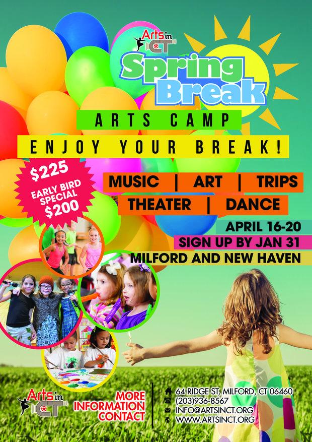 April Spring Break Arts Camp