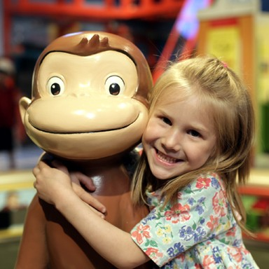 Swingin' in May with Curious George