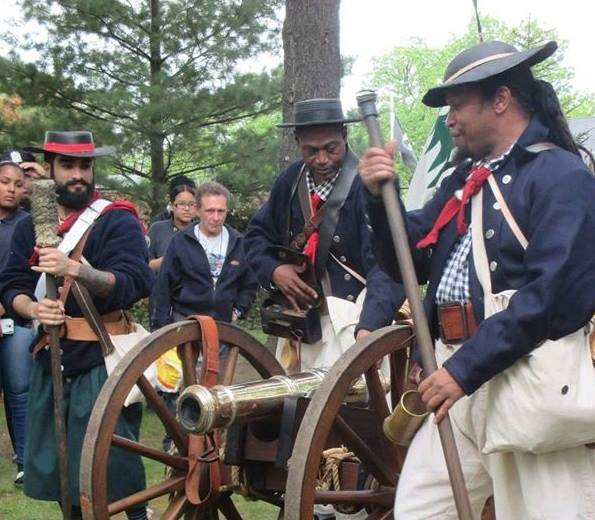 Independence Day at Mill Hill Historic Park- Reenactors & Bell Ringing