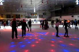 Ice Skating Night Fun Connecticut