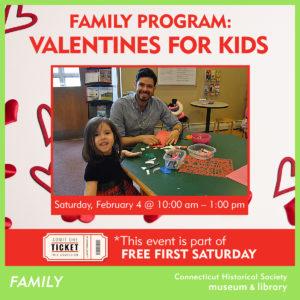 Family Program Valentines for Kids