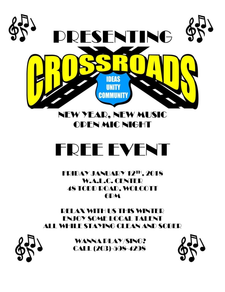Crossroads Open Mic Night for Teens Middle + High School