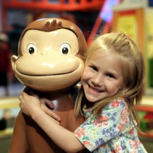 Swingin' in Hartford with Curious George
