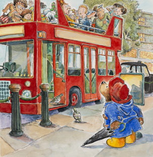 Drawing Paddington with R.W. Alley