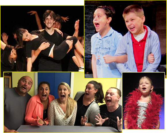 Let your child Act Out at Curtain Call's Theatre Arts Classes!