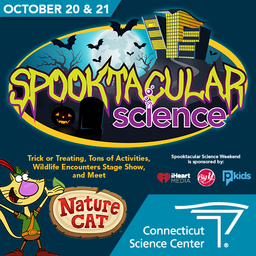 Spooktacular Science Weekend at CT Science Center