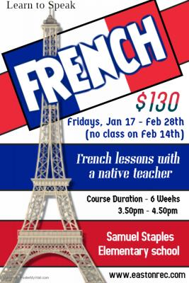 French Lessons Easton CT