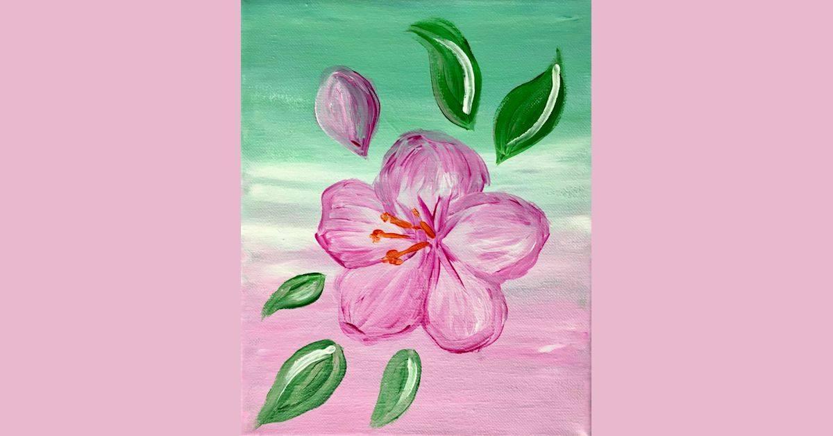Petit Family Foundation Paint & Sip Fundraiser