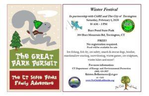 Winter Festival Burr Pond DEEP Connecticut