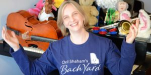 Orli Shaham's Bach Yard Playdates Online Event