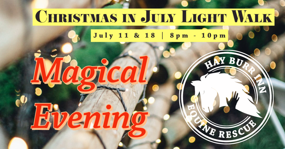 Christmas in July Trail of Lights Walk
