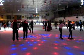 Ice Skating Night Fun Connecticut