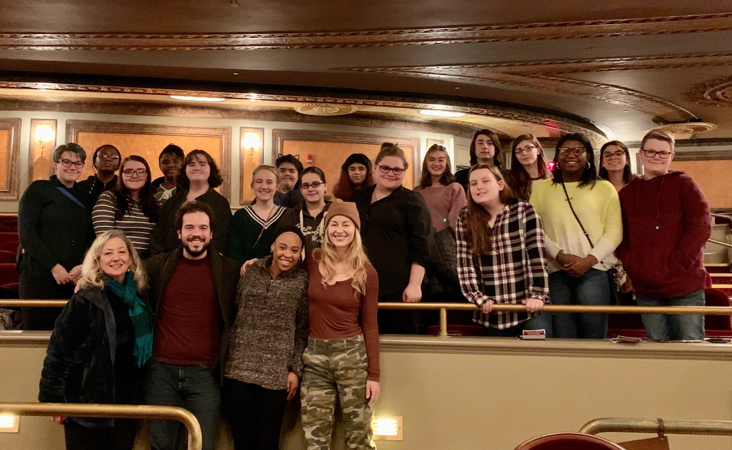 Les Miserables Cast at Palace Theater with After School Program