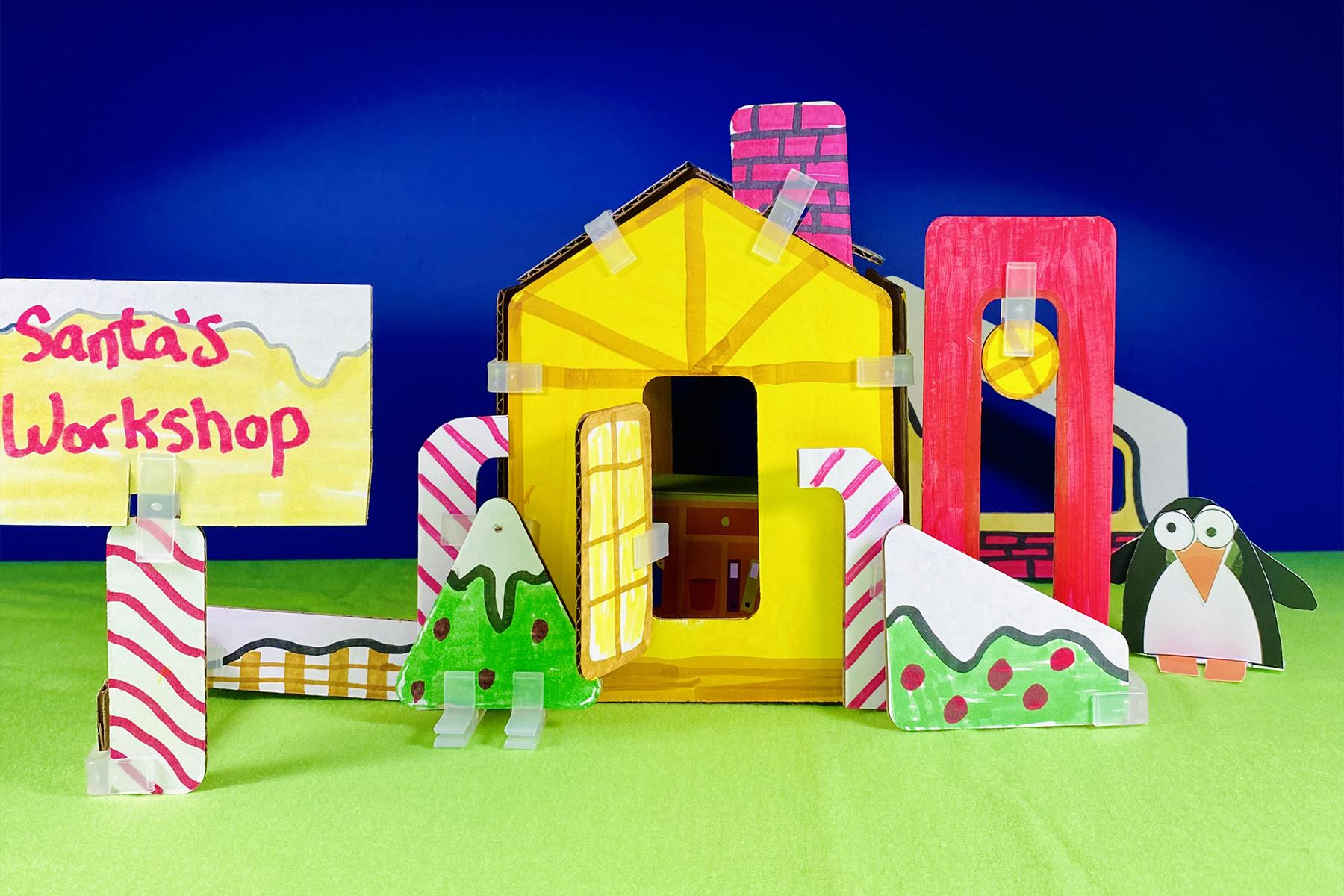 3Dux Design Cardboard Building Sets