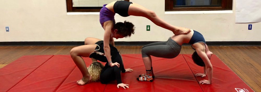 Contortion Trio Thin Oddfellows Playhouse Middletown Connecticut
