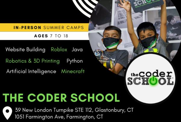 The Coder School Farmington Glastonbury Connecticut